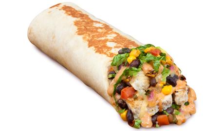 slide 5Chipotle Chicken Wrap