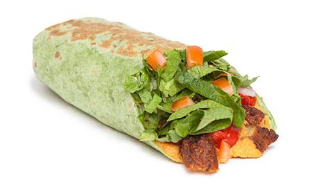 slide 7Falafel Hummus Wrap