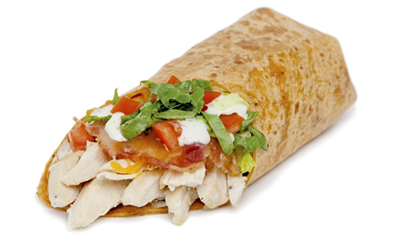 slide 4Santa Fe Chicken Wrap